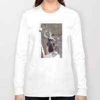 postcard Long Sleeve T-shirts featuring Rome postcard by Miz2017