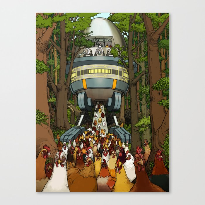 The Egg Canvas Print