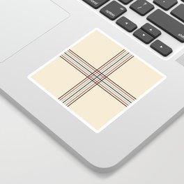 Filigree Fine Lined Cross Sticker