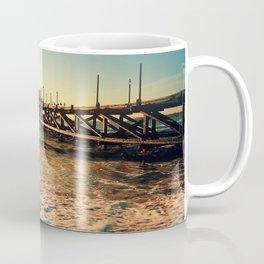 old pier Coffee Mug