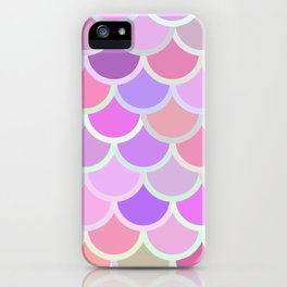 Purple Mermaid iPhone Case