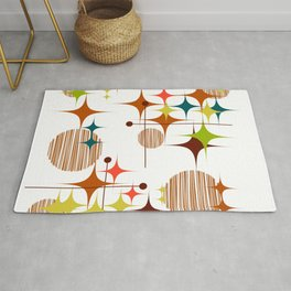 Starbursts and Globes 4a Rug