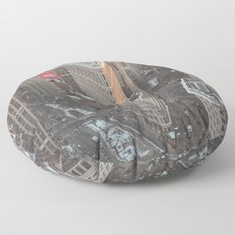 Flatiron Building Floor Pillow