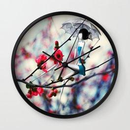 La Fille à l'Ombrelle Wall Clock