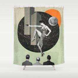 Shots Fired Shower Curtain