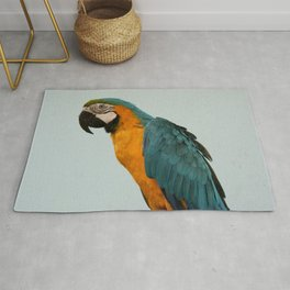 A parrot in Koh Phangan, Thailand Rug