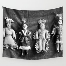 Sioux Indian Dolls Wall Tapestry