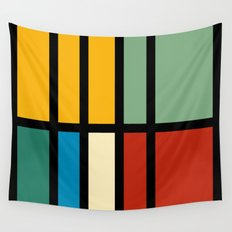 Abstract composition 23 Wall Tapestry