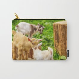 Baby Goats Playing Carry-All Pouch