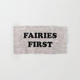 Fairies first Hand & Bath Towel