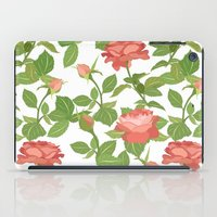 roses iPad Cases featuring Roses by Julia Badeeva