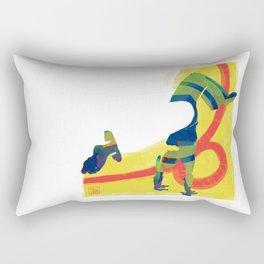 Capoeira 532 Rectangular Pillow