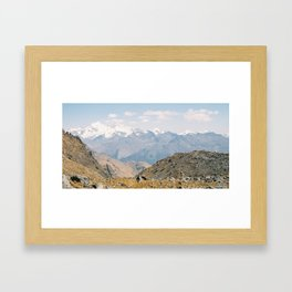 Salkantay Trek to Machu Picchu - Wild Veda Framed Art Print