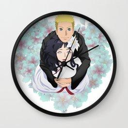 Wedding naruhina Wall Clock