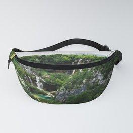 veliki slap waterfall 1 plitvice lakes national park croatia std Fanny Pack