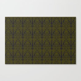 The Grand Salon, Olive Canvas Print