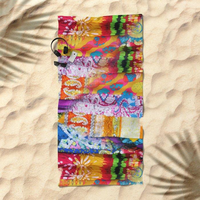 Gipsy Blanket Beach Towel