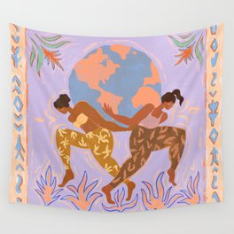 Women Rule the World Wall Tapestry