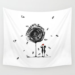 """""""L'amore accade"""" Wall Tapestry"""