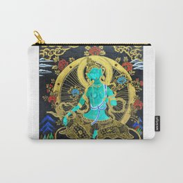 Thang-ga of Green Tara Carry-All Pouch