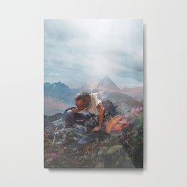 The Elation of Sentience Metal Print