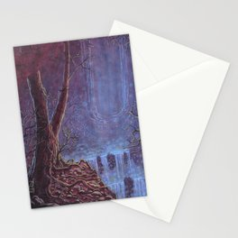 Hidden Waterfall Landscape Stationery Cards
