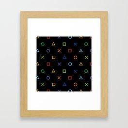 Colofrul Gamer Framed Art Print
