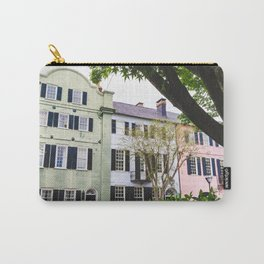 Rainbow Row in Charleston, SC Carry-All Pouch