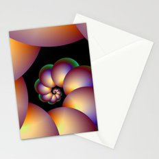 Infinite Spiral Beads Stationery Cards