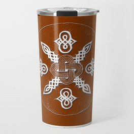 Adinkra Symbol Tote Bag Travel Mug