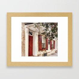 Charleston French Quarter Framed Art Print