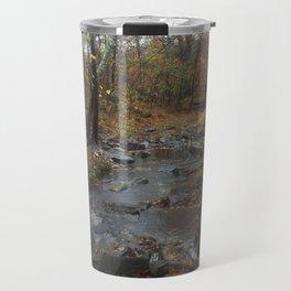 Quiet Autumn Creek Travel Mug