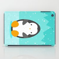penguin iPad Cases featuring Penguin by eDrawings38