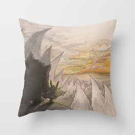 The Beast - 07 Throw Pillow