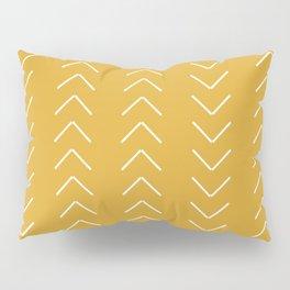 V / Yellow Pillow Sham