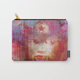 wonder abstract woman Carry-All Pouch