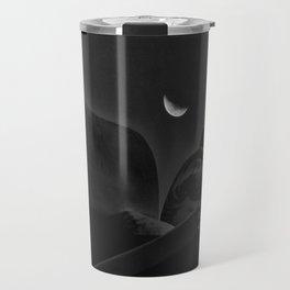 Budha moon Travel Mug