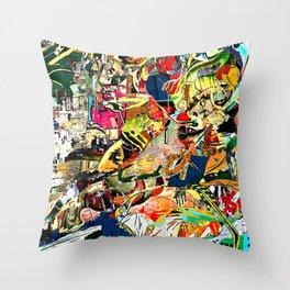 homage du Nouveau réalisme Throw Pillow