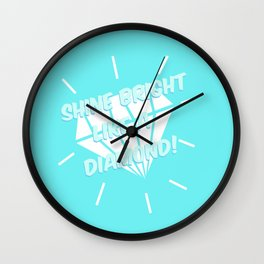 Shine Bright Wall Clock