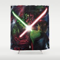 jedi Shower Curtains featuring Return of the Jedi by Peejay Catacutan