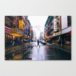 Chinatown Crossing Canvas Print