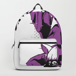 Sad anime girl Backpack