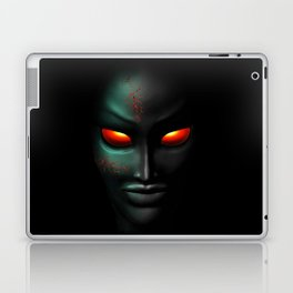 Zombie Ghost Halloween Face Laptop & iPad Skin