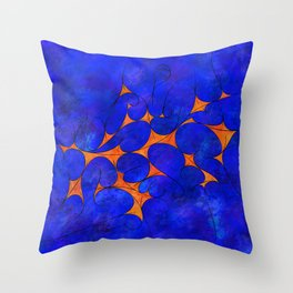 Ranagrossi - curved fantasy Throw Pillow