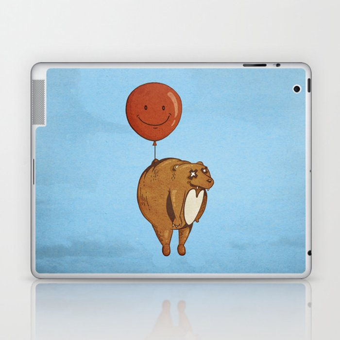 Float On, Bear, Float On Laptop & iPad Skin