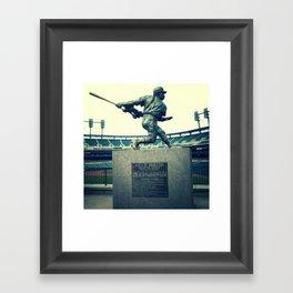 Swing for the Fences! Framed Art Print