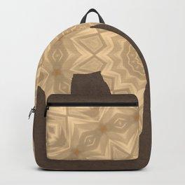 Bohemian Elephant BoHo Hipster Gypsy Mandala A395 Backpack