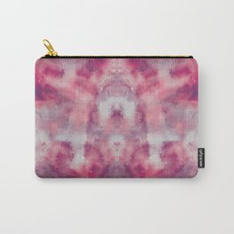 Pink watercolour, marble, yoga, hippie, bohemian, tie dye Carry-All Pouch