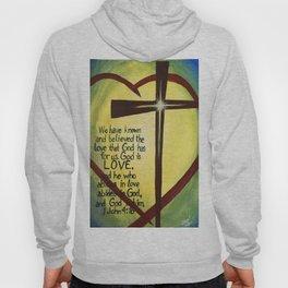 God Is Love Cross Hoody