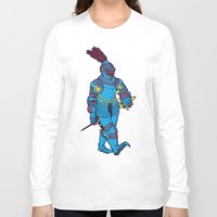 knight Long Sleeve T-shirts featuring knight by the hermit